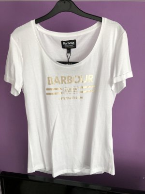 Barbour T-shirt blanc