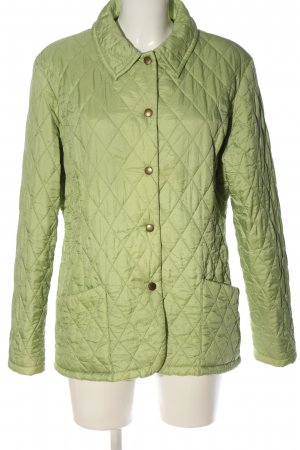 Barbour Übergangsjacke grün Steppmuster Casual-Look