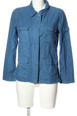 Barbour Between-Seasons Jacket blue striped pattern casual look