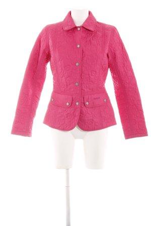Barbour Veste mi-saison rose style décontracté