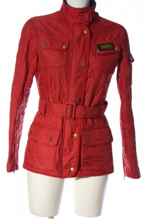 Barbour Übergangsjacke rot Casual-Look
