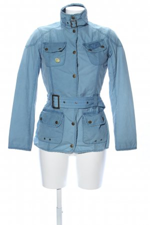 Barbour Übergangsjacke blau Casual-Look
