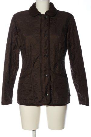 Barbour Between-Seasons Jacket brown quilting pattern casual look