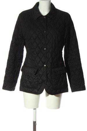 Barbour Between-Seasons Jacket black quilting pattern casual look