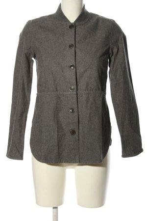 Barbour Between-Seasons Jacket light grey flecked casual look