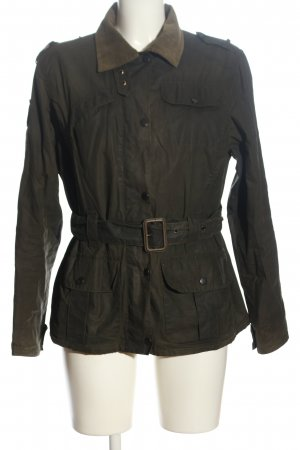 Barbour Übergangsjacke khaki Casual-Look
