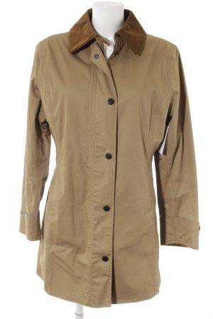 Barbour Between-Seasons-Coat light brown-brown check pattern casual look