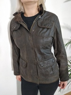 Barbour Waxed Jacket forest green-olive green