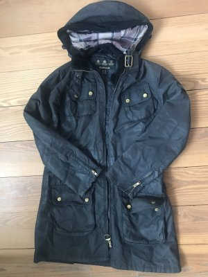 Barbour Waxed Jacket dark blue