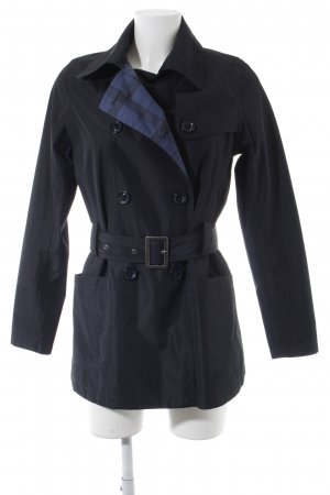 Barbour Reversible Jacket dark blue-blue check pattern Brit look