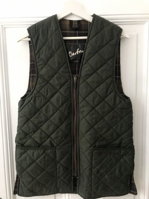 Burberry Quilted Gilet dark green