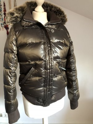 Barbour Down Jacket bronze-colored
