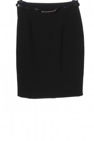bardehle Pencil Skirt black-white check pattern business style