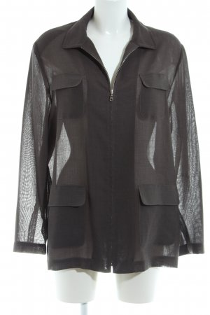 bardehle Veste chemisier noir style simple