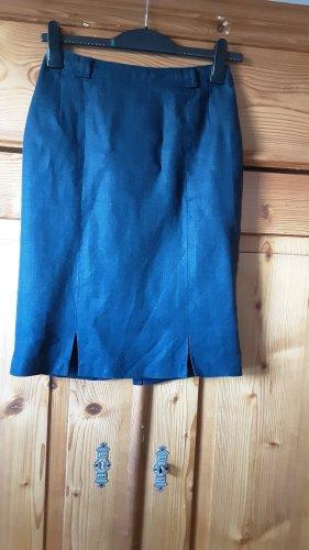 bardehle Linen Skirt dark blue
