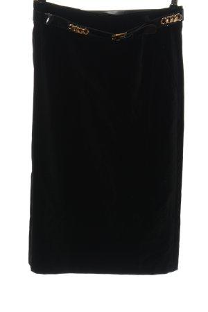 bardehle Spódnica z wysokim stanem czarny W stylu casual