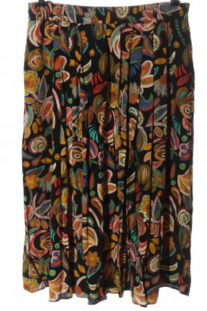 bardehle Midi Skirt abstract pattern casual look
