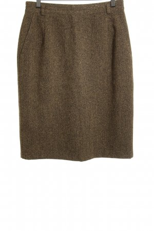 bardehle Midi Skirt beige-black flecked casual look