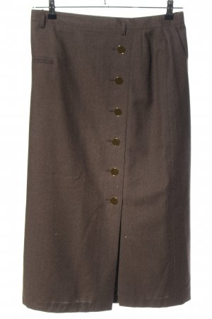 bardehle Midi Skirt brown flecked casual look