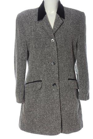 bardehle Manteau mi-saison gris clair moucheté style décontracté