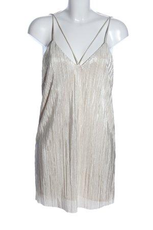 Bardot Minikleid silberfarben Elegant