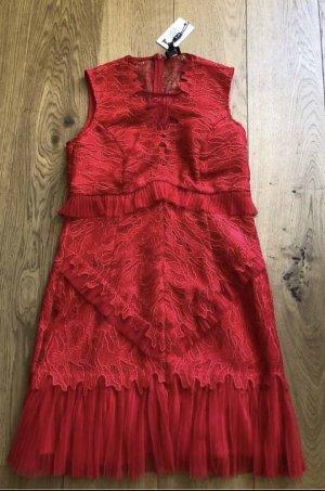 Bardot Mini Dress red
