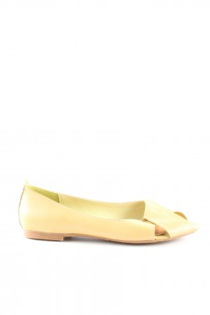Bare Traps Mary Jane Ballerinas blassgelb Casual-Look