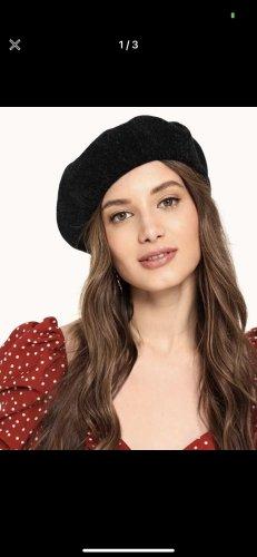 SheIn Felt Hat black