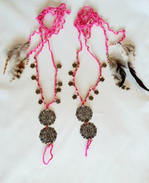 Ibizamode Anklet bronze-colored-pink