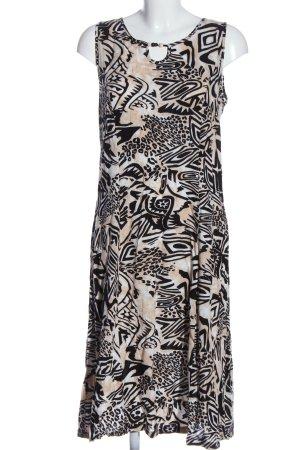 Barisal Robe trapèze motif abstrait style décontracté