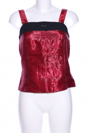 Barisal Blouse Top red-black elegant