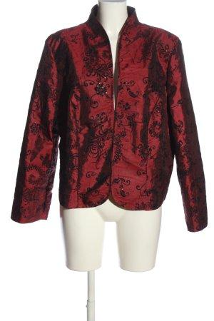 Barisal Boléro rouge-noir Mélange de motifs style mouillé