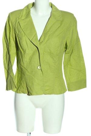 Barisal Korte blazer groen casual uitstraling