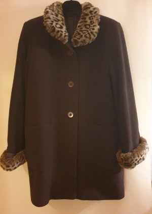Barisal Wool Jacket dark brown