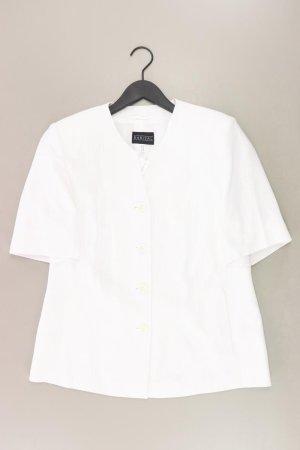 Barisal Blazer court blanc cassé polyester