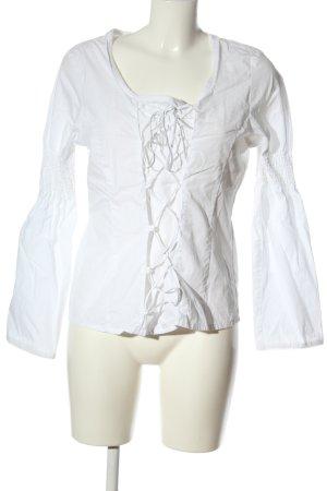 Barisal Camicetta a maniche lunghe bianco elegante
