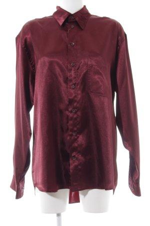 Barisal Chemise à manches longues rouge élégant