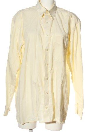 Barisal Camicia a maniche lunghe giallo pallido stile professionale