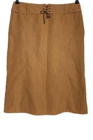 Barisal Jupe mi-longue brun style d'affaires