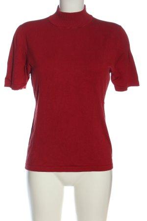 Barisal Maglia a collo alto rosso stile casual