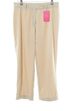 Barisal Stoffen broek lichtgeel zakelijke stijl