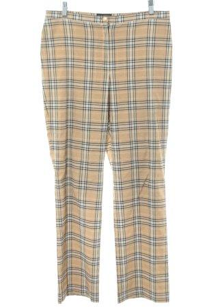 Barisal Stoffen broek geruite print elegant