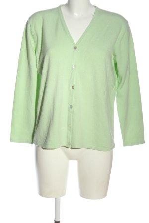 Barisal Gebreide cardigan groen casual uitstraling