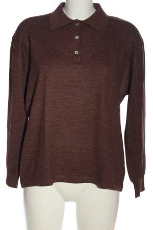 Barisal Pull tricoté rouge style décontracté