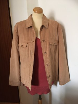 Barisal Leather Jacket beige-camel