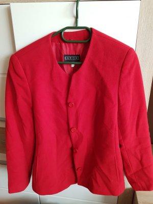 Barisal Blazer de lana rojo-rojo ladrillo