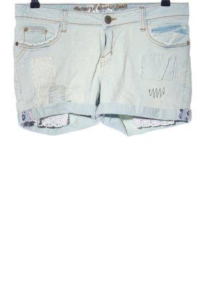 Barnaby, Collum & Smith Pantaloncino di jeans blu stile casual