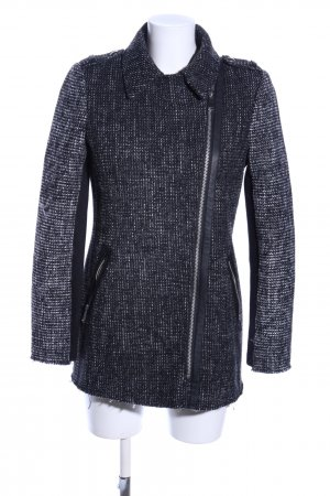 Barneys New York Between-Seasons Jacket black flecked casual look