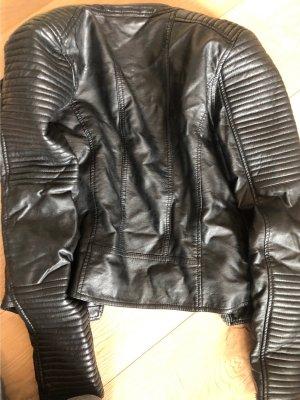 Barneys Originals Leather Jacket black