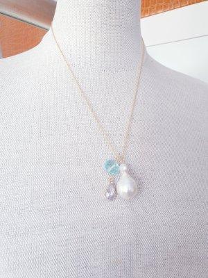 Kleines & Feines Collar de perlas multicolor